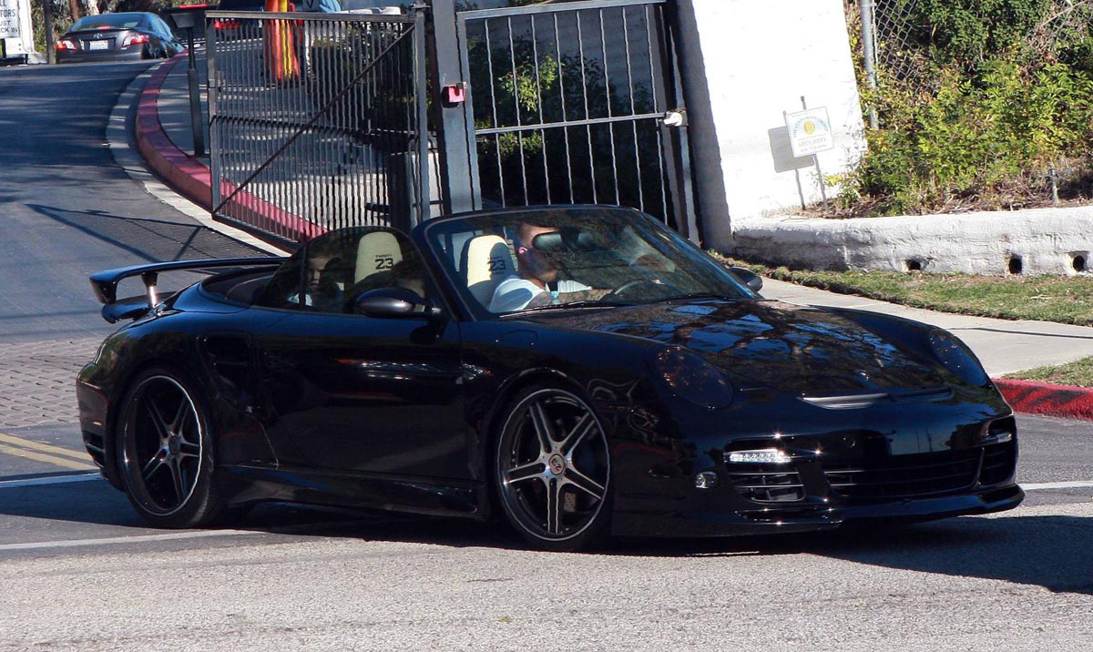 David Beckham Porsche Turbo
