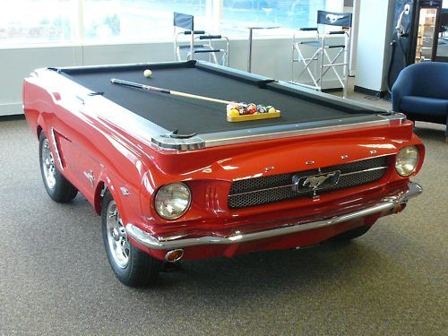 Upcycled Car Pool Table