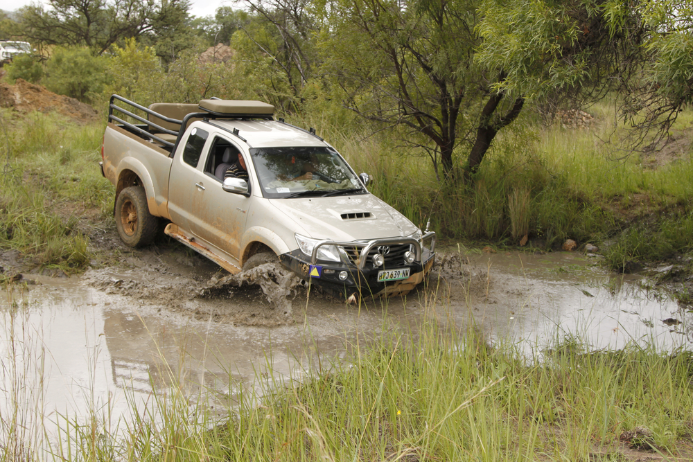 King off the road - Toyota Hilux