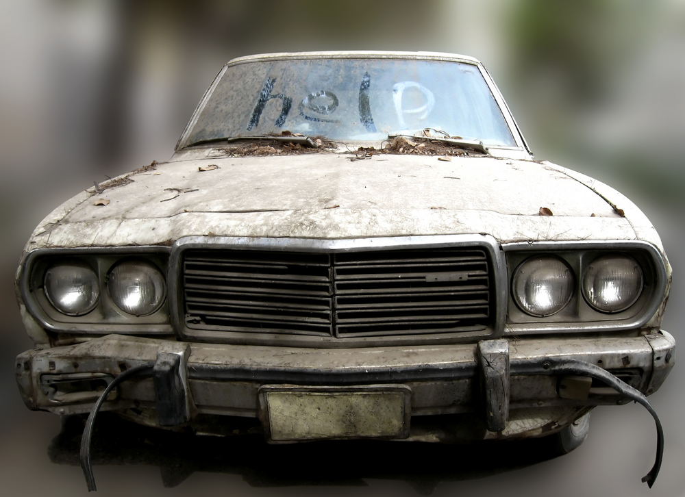 Unmaintained Car