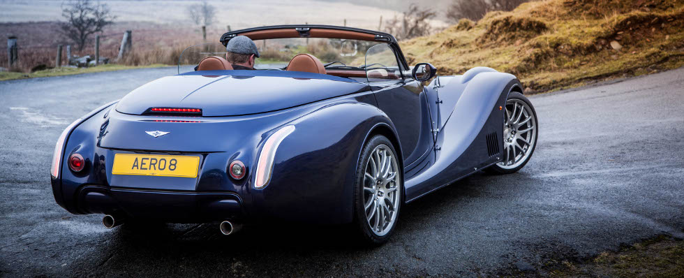 New Morgan sports car