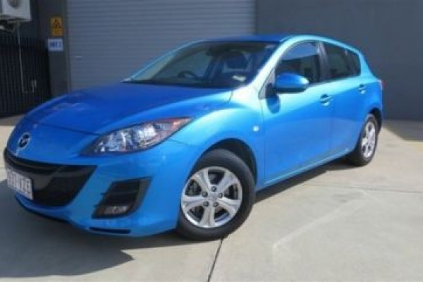sell my car – mazda 3 blue