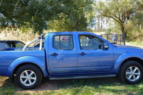 sell my car – nissan navara blue