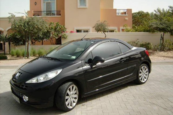 sell my car – peugeot black