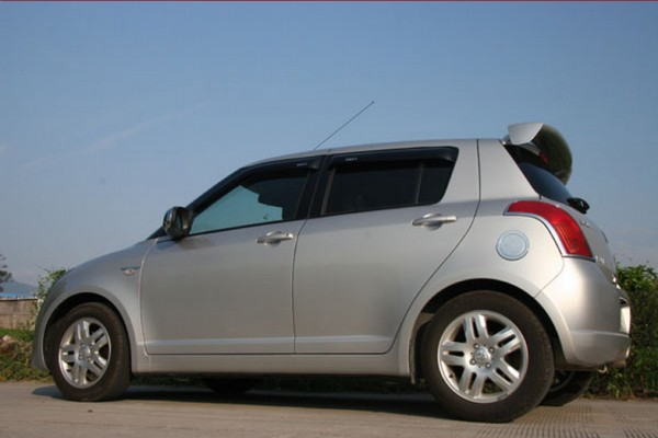 sell my car – suzuki swift silver