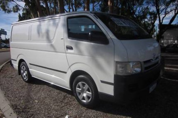 sell my car – toyota hiace white