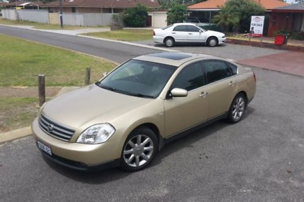 sell my car – nissan maxima gold