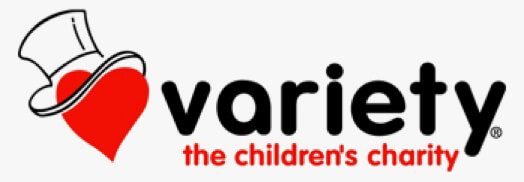 logo of variety childrens charity