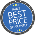 Saul's Best Price Guarantee