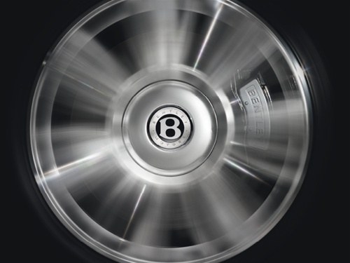Bentley Wheel Badge