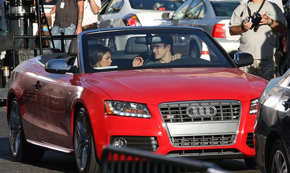Justin Timberlake Audi S5 Cabriolet