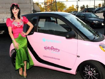Katy Perry Smart Car