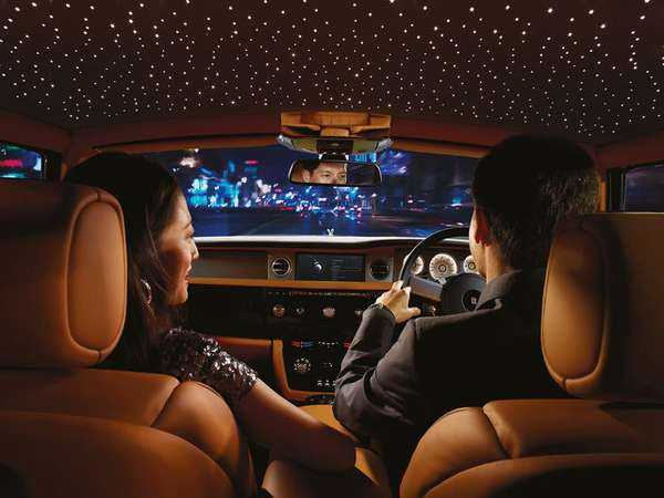 Rolls Royce Starlight Ceiling