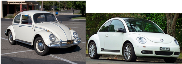 Volkswagen Beetle - New & Old