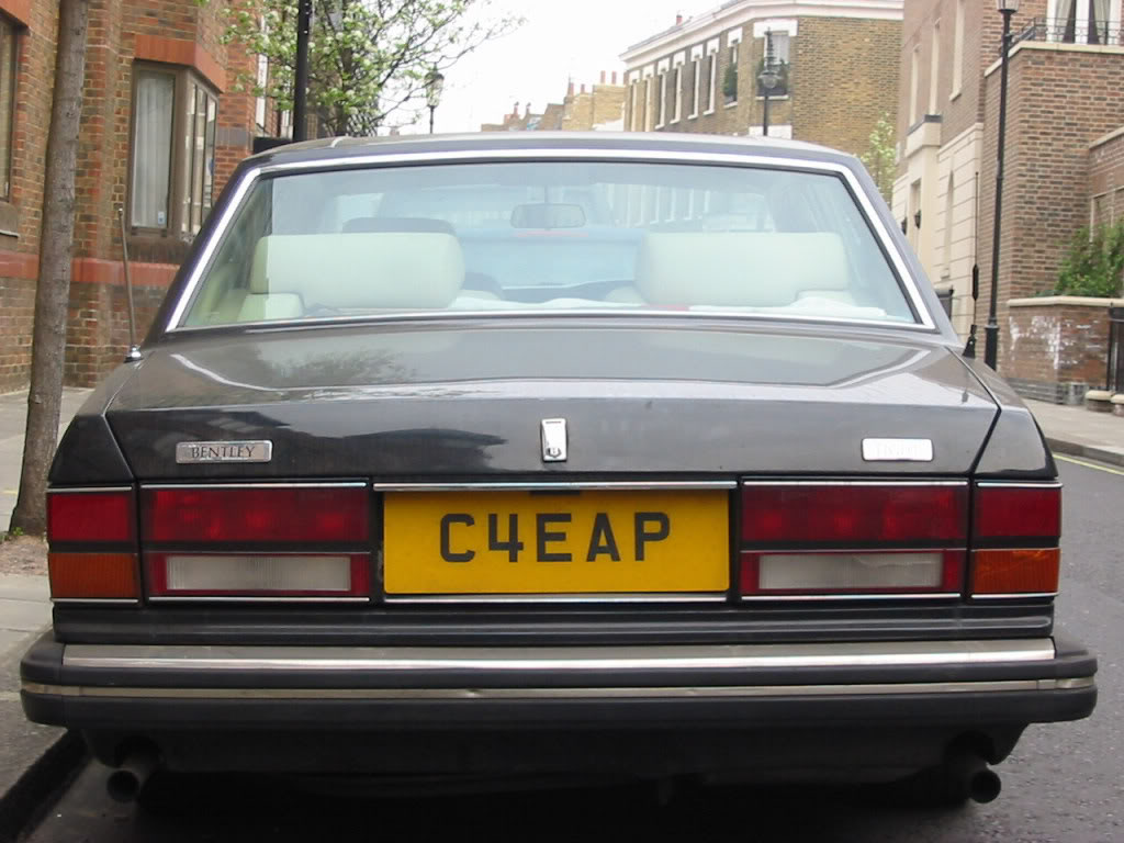 Cheap Number Plate