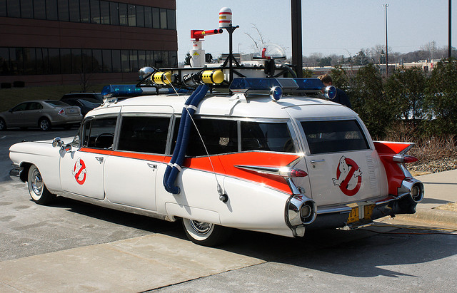 Ghostbusters 1959 Cadillac Miller-Meteor Hearse