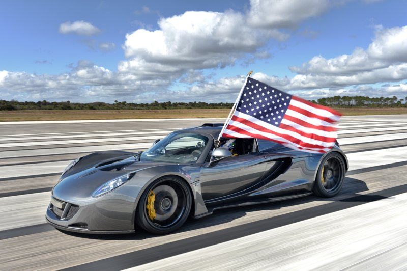 Hennessey Venom GT : Officially the world's fastest car