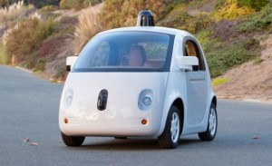 The Original Google Driverless Car