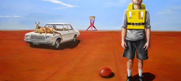 Football meat pies kangaroos and Holden cars