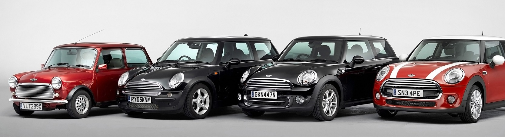 Mini through the ages