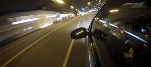 Reduced night driving vision
