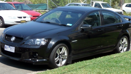SELL MY CAR HOLDEN COMMODORE BLACK