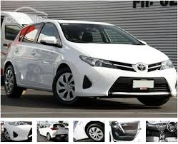 sell my car 2011 toyota corolla ascent hatch white