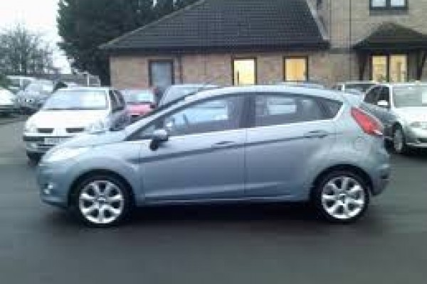 sell my car Ford Fiesta hatch blue