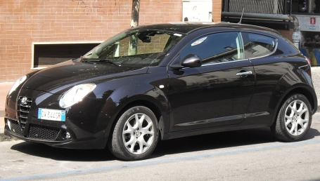 sell my car – alfa romeo mito hatch black