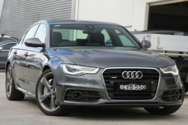 sell my car - audi a6 grey