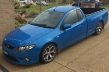 sell my car ford falcon xr6 ute blue
