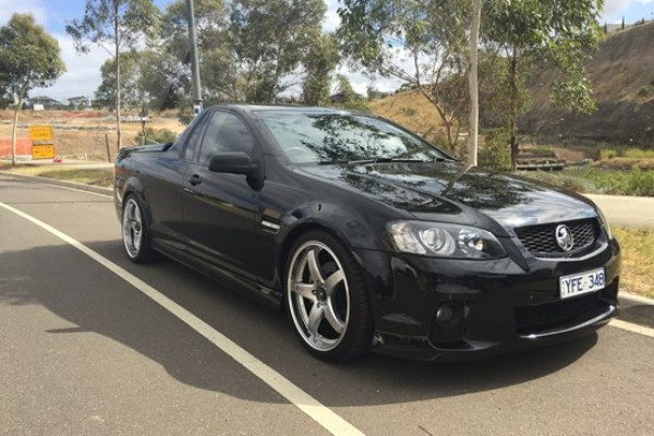 sell my car - holden SS ute black