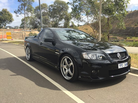 sell my car – holden SS ute black