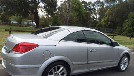sell my car – holden astra silver