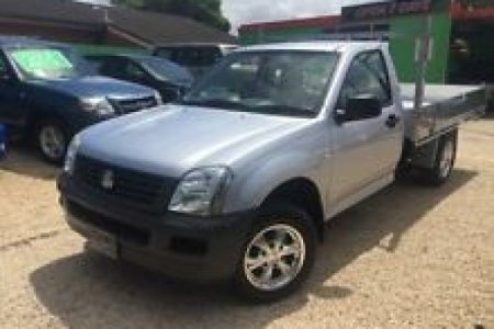 sell my car – holden rodeo silver