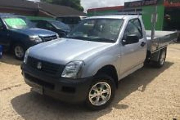 sell my car - holden rodeo silver