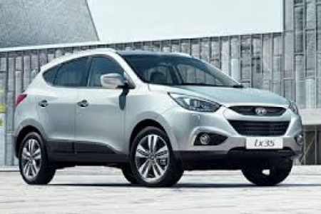 sell my car hyundai IX35 Hatchback silver