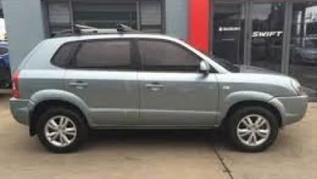 sell my car hyundai tucson city grey