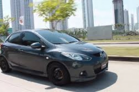 sell my car – mazda 2 hatch grey