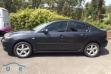 sell my car – mazda 3 maxx sport grey