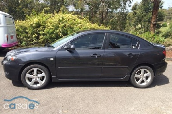 sell my car - mazda 3 maxx sport grey