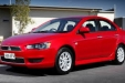 sell my car - mitsubishi lancer red