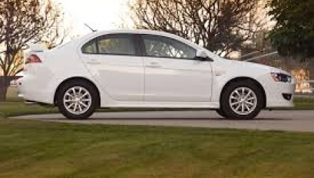 sell my car mitsubishi lancer white