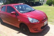 sell my car mitsubishi mirage red