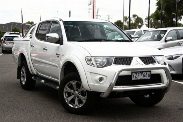 sell my car - mitsubishi triton white
