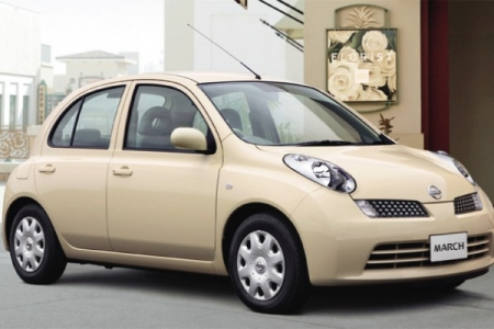 sell my car nissan micra cream