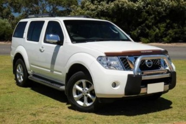 sell my car nissan pathfinder white