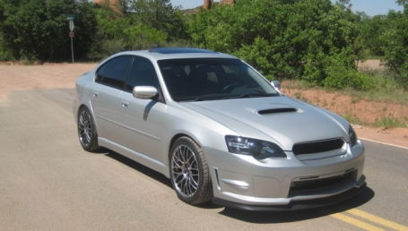 sell my car – subaru liberty silver