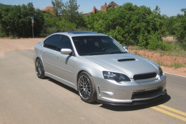 sell my car - subaru liberty silver