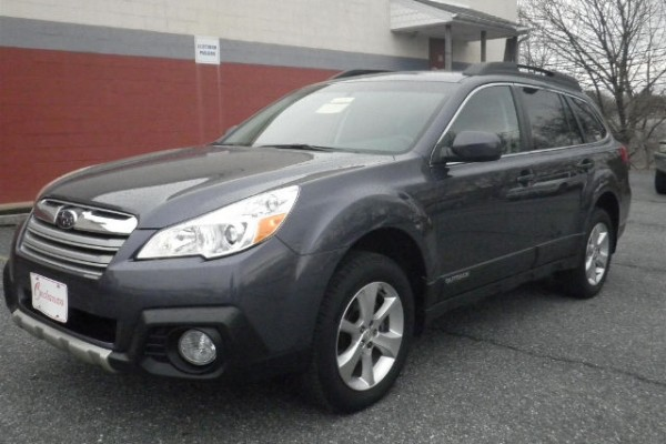 sell my car - subaru outback grey wagon